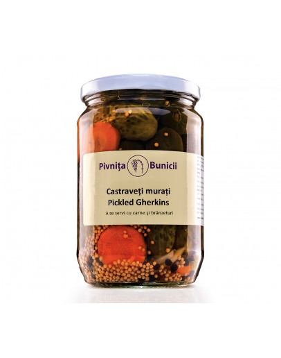 Pickled Gherkins - 650g