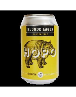 Hopo Blonde Lager Gluten Free ABV 4,5% - 330ml