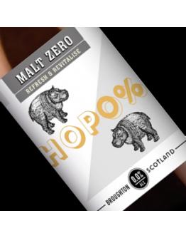 Hop0% ABV 0% - 330ml
