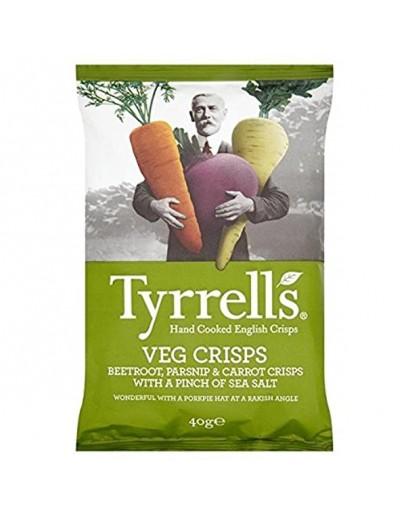 Tyrrells Veg Crisps - 40g