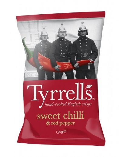 Tyrrells Sweet Chilli & Red Pepper - 150g