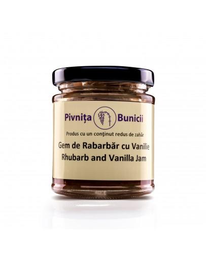 Rhubarb & Vanilla Jam - 190g