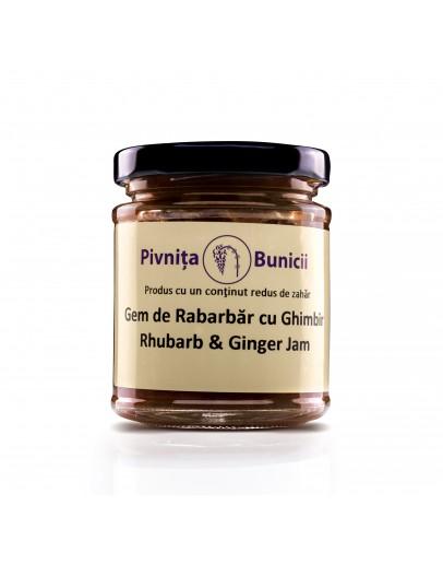 Rhubarb & Ginger Jam - 190g