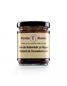 Rhubarb & Strawberry Jam - 190g