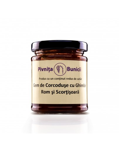 Bullace Jam with Ginger, Cinnamon & Rum - 190g