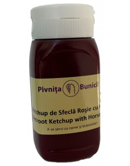 Beetroot Ketchup with Horseradish - 300g