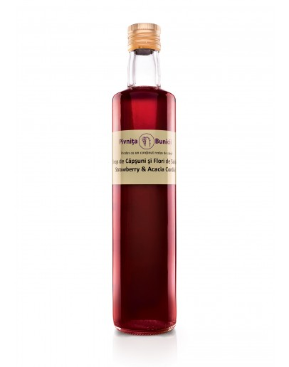 Strawberry & Acacia Cordial - 500ml