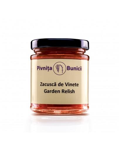 Smoked Aubergine Relish (Garden Relish) - 180g