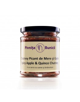 Spicy Apple & Quince Chutney - 190g